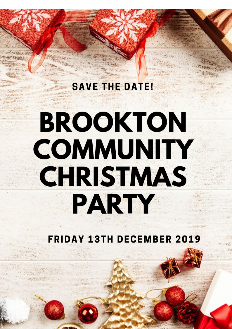 BROOKTON COMMUNITY CHRISTMAS PARTY