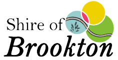 Shire of Brookton logo footer